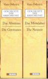 Geschichte der Kriegskunst, Hans Delbrück