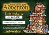 Vorverkaufskarte 2 Tage Erwachsene Wikingerfest 15.-16.9.2018