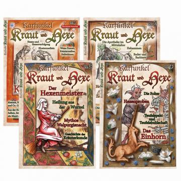"""Paket """"Kraut und Hexe"""" (beinhaltet 4 Hefte)"""
