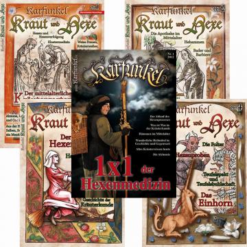 Paket Hexenwissen XL (beinhaltet 5 Hefte)