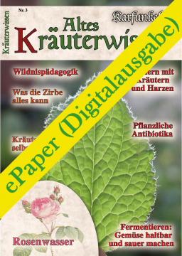 Altes Kräuterwissen Nr. 03 (ePaper)