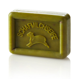 Ovis Schafmilchseife Olive-grün, 8,5 x 6 cm, 100 g