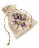 Lavendelmotivstickerei-Säckchen