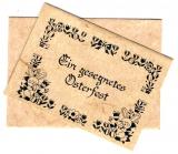Karte mit Umschlag • Gesegnetes Osterfest