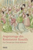 Augenzeuge des Konstanzer Konzils, Ulrich Richental