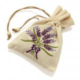 Lavendel-Leinensäckchen, 25 g