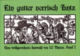 Ein gutter nerrisch Tantz Bd.1, Martina Sirtl