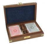 Karten und Würfel-Box