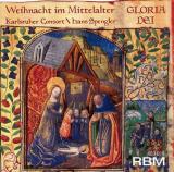 CD: Spengler - Karlsruher Consort: Gloria Dei - Weihnacht im Mittlalter