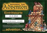Vorverkaufskarte Erwachsene Herbstfest/Große Schlacht 13.-14.10.2018