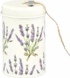 Lavendel: Metalldose mit Schnur
